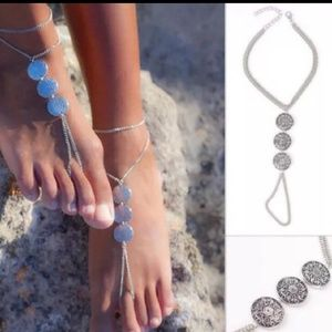 Jewelry - Boho Medallion anklet